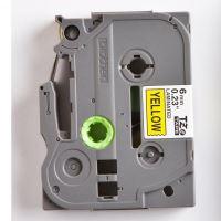 Páska Brother TZE-611, 6mm, černý tisk/žlutý podklad, originál 3