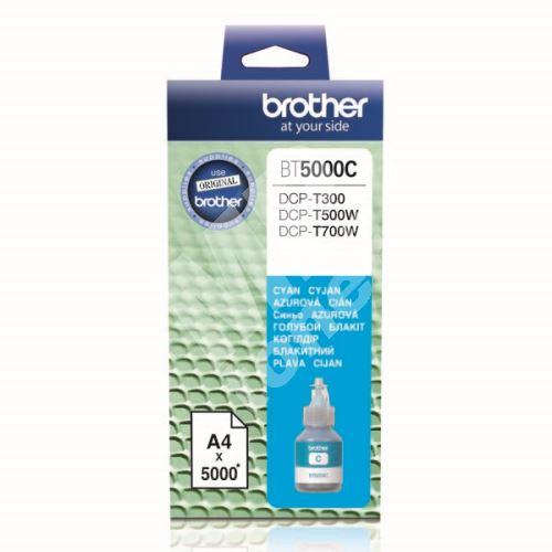 Cartridge Brother BT5000C, cyan, originál 1
