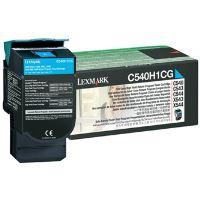 Toner Lexmark C540, X543, X544, X543, X544, cyan, 0C540H1CG, originál