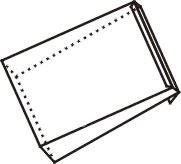 Poštovní obálka B4 křížové dno recykl./cena za 1000 ks 1