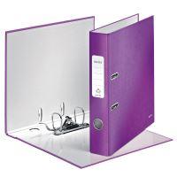 Pákový pořadač 180 Wow, purpurová, 52 mm, A4, PP/karton, LEITZ 4