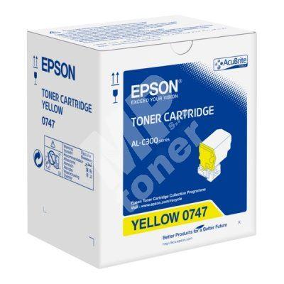 Toner Epson C13S050747, yellow, originál 1