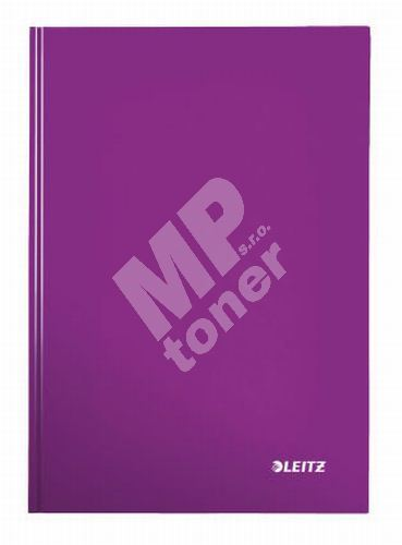 Zápisník Leitz WOW A5, čtverečkovaný, purpurový 1