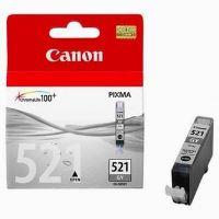 Inkoustová cartridge Canon CLI-521GY, šedá, originál