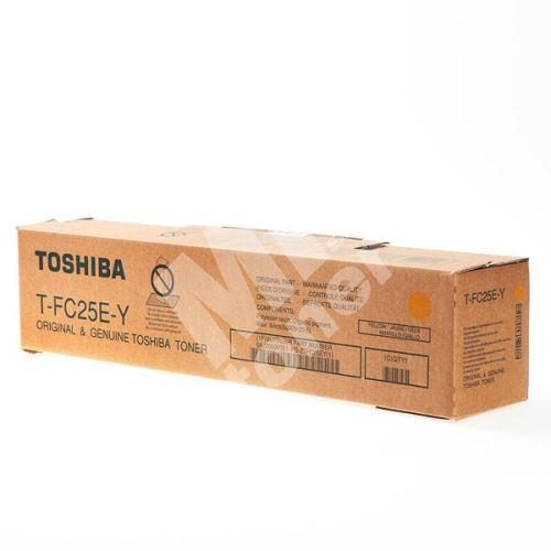 Toner Toshiba T-FC25EY, yellow, originál 1