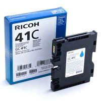 Gelová náplň Ricoh GC41C, 405762, Aficio SG3110N, cyan, originál