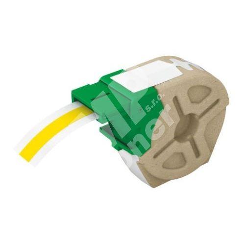 Plastová páska samolepicí Leitz Icon, 12 mm, žlutá 1