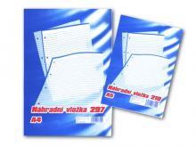 Náhradní vložka do karis bloku A4 čtvereček, 100 listů 2