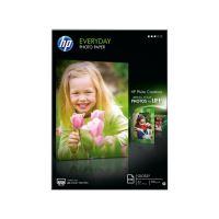 HP Everyday glossy Photo Paper, Q2510A, pololesklý, bílý, A4, 210x297mm, 200g/m2
