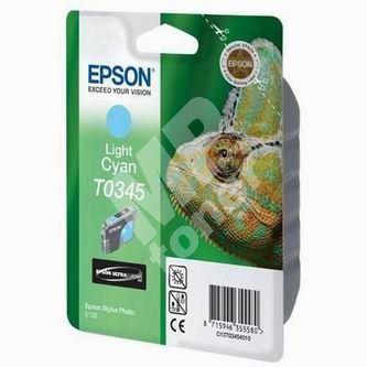 Inkoustová cartridge Epson C13T034540 světle modrá, originál