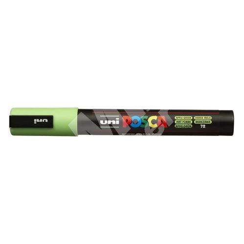 Uni Posca PC-5M akrylový popisovač, 2,5 mm, zelené jablko 1