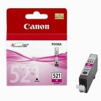 Inkoustová cartridge Canon CLI-521M, červená, originál