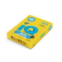 Barevný papír IQ IG50, A4 80g intenzivní žlutá 1bal/500 listů