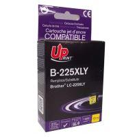 Kompatibilní cartridge Brother LC-225XLY, MFC-J4420DW, MFC-J4620DW, yellow, UPrint