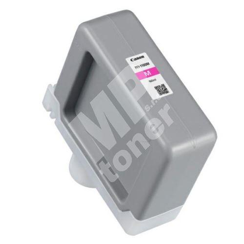 Cartridge Canon PFI-1100M, 0852C001, magenta, originál 1