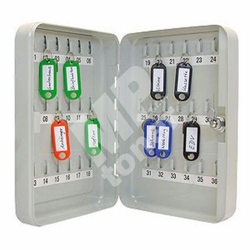 Schránka na klíče Wedo, uzamykatelná, 36 klíčů 1