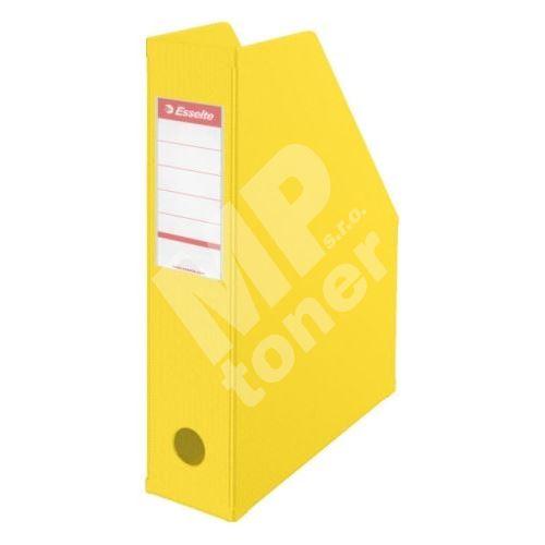 Stojan na časopisy Esselte VIVIDA Economy 70 mm, žlutý 1