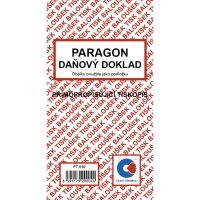 Paragon daňový doklad A6 PT010, samopropis, 50 listů