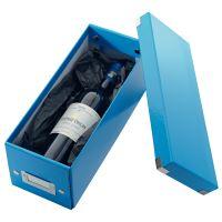 Archivační krabice na CD Leitz Click-N-Store WOW, modrá 3