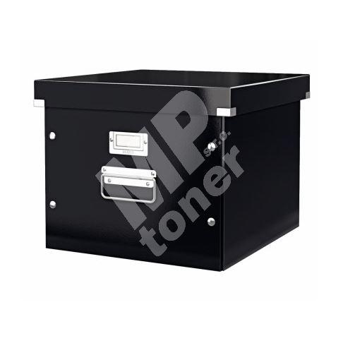 Archivační krabice na závěsné desky Leitz Click-N-Store, černá 1